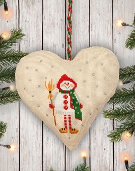 Anchor The Christmas Decorations Collection - Festive Door Hanger Snowman