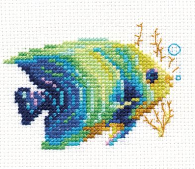 Alisa - Tropical Fish Emrald