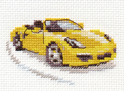 Alisa - Yellow Sportscar