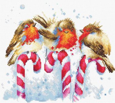 Luca-S - CHRISTMAS BIRDS
