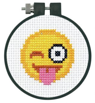 Dimensions Learn-A-Craft - Tongue Out Emoji