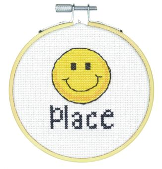 Dimensions Crafts Stitch Wits - Happy Place