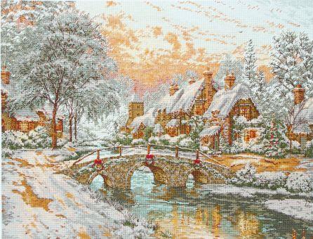 Super SALE Anchor Maia - Cobblestone Christmas - Thomas Kinkade