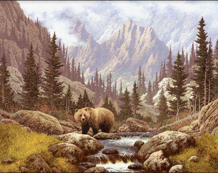 Diamond Painting Artibalta - Bear on the Field