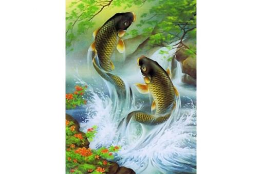 Diamond Painting Artibalta - KIT KOI CARPS