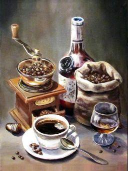 Diamond Painting Artibalta - Coffee Set