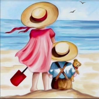 Diamond Painting Artibalta - Holidays on the Beach