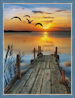 Diamond Painting Artibalta - Sunset on the Lake