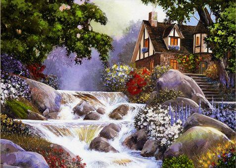 Diamond Painting Artibalta - House near the River