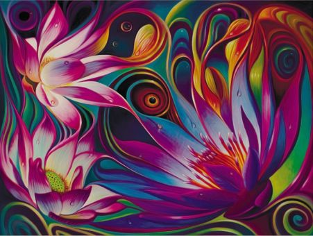 Diamond Painting Artibalta - Mystical Lotus