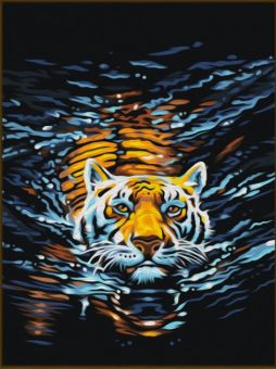 Diamond Painting Artibalta - Swimming Tiger