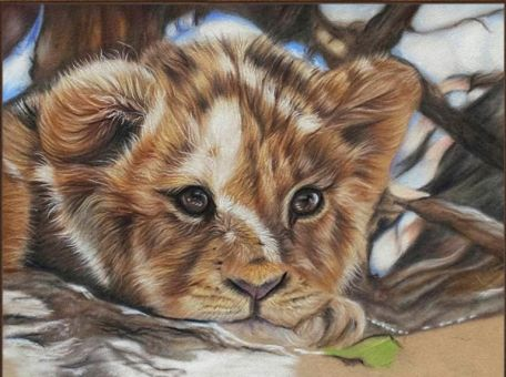 Diamond Painting Artibalta - Little Lion