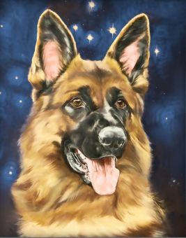 Diamond Painting Artibalta - Sheepdog Portrait