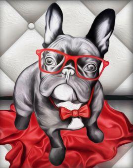 Diamond Painting Artibalta - Stylish Bulldog