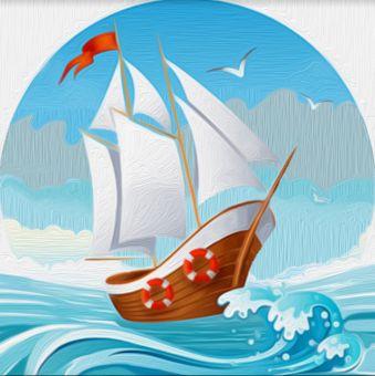 Diamond Painting Artibalta - Painting On the Waves