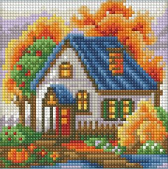Diamond Painting Artibalta - AUTUMN HOUSE