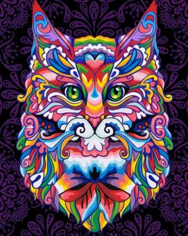 Diamond Painting Artibalta - MYSTICAL CAT