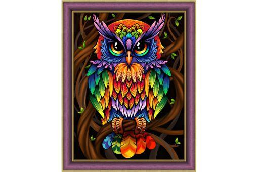 Diamond Painting Artibalta - RAINBOW OWL