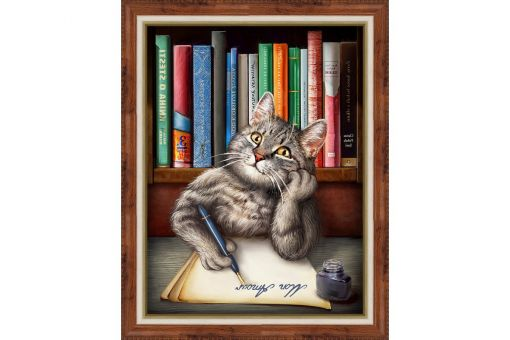 Diamond Painting Artibalta - SMART CAT