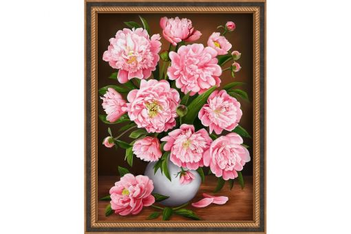 Diamond Painting Artibalta - PEARLY PEONIES