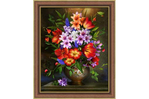 Diamond Painting Artibalta - FLOWER ASSORTMENT