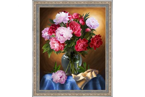 Diamond Painting Artibalta - LUXURIOUS PEONIES