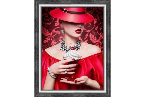 Diamond Painting Artibalta - CHERRY LADY