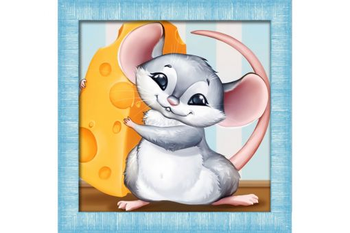 Diamond Painting Artibalta - MOUSE AND CHEESE