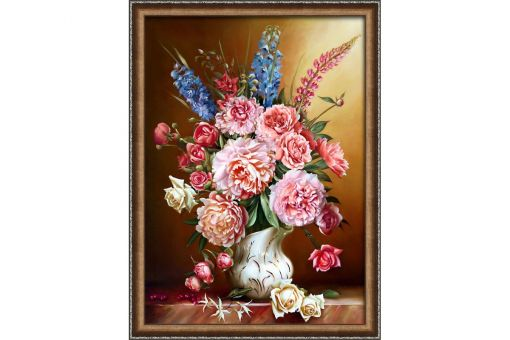 Diamond Painting Artibalta - PEONIES AND LUPINES