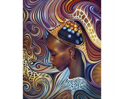 Diamond Embroidery/ Diamond Painting - African theme