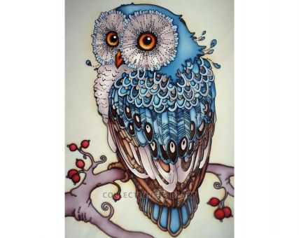 Diamond Embroidery/ Diamond Painting - Owl