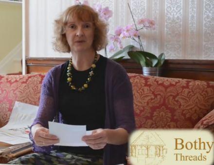 Video - Kate erklärt das Sticken im Kreuzstich