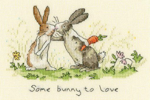 Bothy Threads - ANITA JERAM - SOME BUNNY TO LOVE