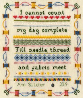 Bothy Threads - Stitching Sampler