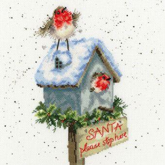 Bothy Threads - Santa Please Stop Here
