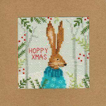Bothy Threads - Christmas Card – Xmas Hare