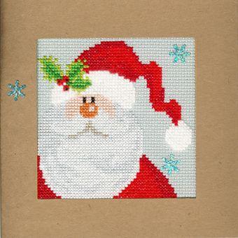 Bothy Threads - Christmas Card – Snowy Santa