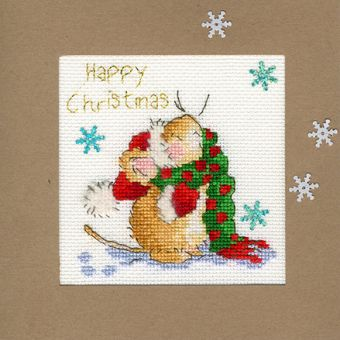 Bothy Threads - Christmas Card – Counting Snowflakes