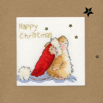Bothy Threads - Christmas Card – Star Gazing