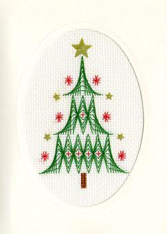 Bothy Threads - Christmas Card – Christmas Tree