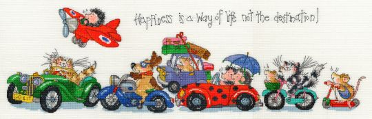 Bothy Threads - Happiness Is A Way Of Life - Margaret Sherry