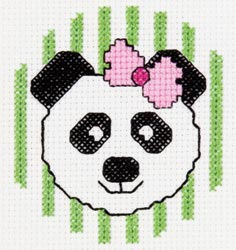 Bucilla - My 1st Stitch Panda Mini