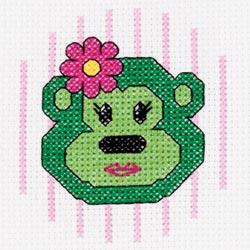 Bucilla - My 1st Stitch Monkey Mini