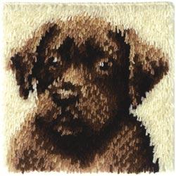 Caron Knüpfpackung - Chocolate Dog