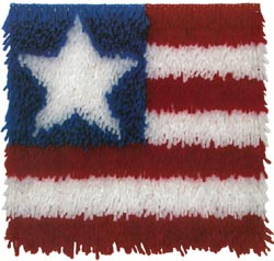 Caron Latch Hook Kit - Patriot