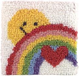 Caron Knüpfpackung - Sunshine Rainbow