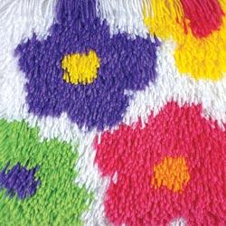 Caron Knüpfpackung - Shaggy Flowers