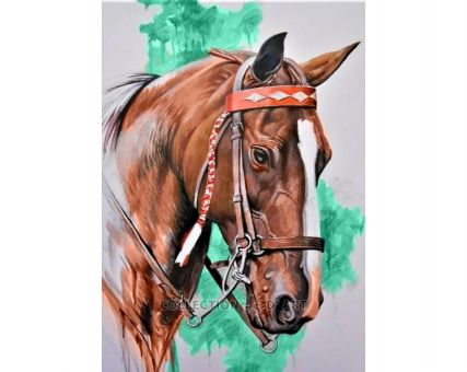 Diamond Embroidery/ Diamond Painting - Horse`s head
