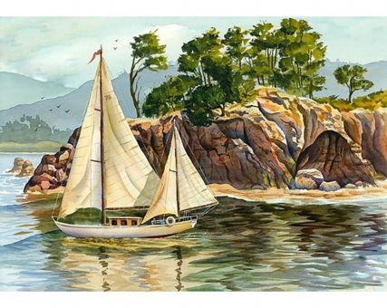 Diamond Embroidery/ Diamond Painting - Natal shores