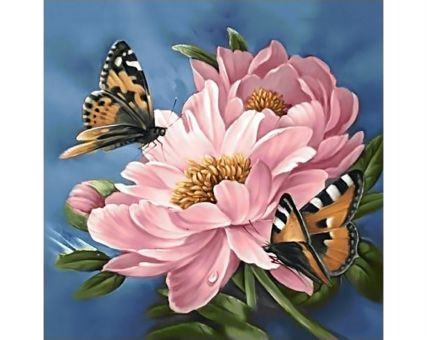 Diamond Embroidery/ Diamond Painting - Flower sap
